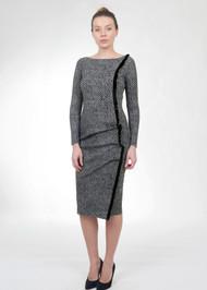 *FALL/WINTER 2021 TRUNK SHOW* Chiara Boni La Petite Robe Zurine Print Velvet Dress