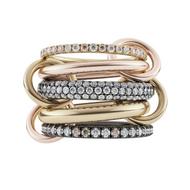 Spinelli Kilcollin Leo MX 5 Link Ring, Size 6