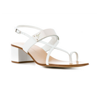 Giuseppe Zanotti Rock White Chunky Strappy Sandal