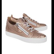 Giuseppe Zanotti Pregol Ramino Snakeskin Sneaker