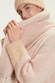 Dorothee Schumacher Cozy Layer Scarf in Colorful Stripes