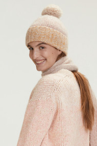 Dorothee Schumacher Cozy Layer Cap in Colorful Stripes
