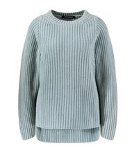 Iris Von Arnim Agnella Cashmere Crewneck Sweater in Aqua