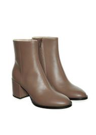 Fabiana Filippi Eliana Leather Boots in Beige