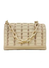 *PRE-ORDER* Nancy Gonzalez Large Alix Bag in Cream
