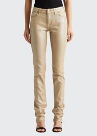 Ralph Lauren Pearlescent Foil 160 Skinny Jeans