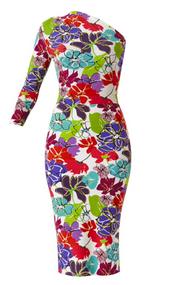 *PRE-ORDER* Chiara Boni La Petite Robe Yumi SJE Print Dress