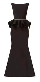 *PRE-ORDER* Chiara Boni La Petite Robe Eden Piping Long Gown