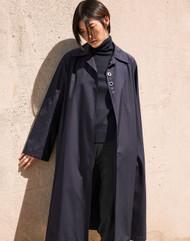 *PRE-ORDER* Lafayette 148 New York Kingston Trench Coat in Italian Sculpted Silk