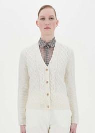 Max Mara Dixi Wool and Cashmere Cardigan in Silk