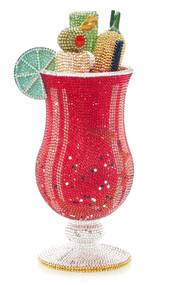 *PRE-ORDER   SPRING '22* Judith Leiber Couture Bloody Mary Cocktail Novelty Clutch
