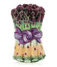 *PRE-ORDER   SPRING '22* Judith Leiber Couture Asparagus Hollandaise Novelty Clutch