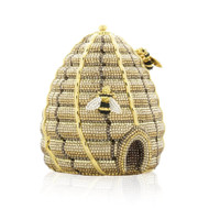 *PRE-ORDER   SPRING '22* Judith Leiber Couture Bee Hive Bee's Knees Novelty Clutch