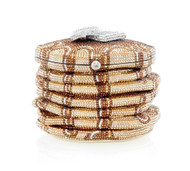 *PRE-ORDER   SPRING '22* Judith Leiber Couture Pancakes Novelty Clutch