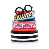 *PRE-ORDER   SPRING '22* Judith Leiber Couture Stack of Bracelets Novelty Clutch