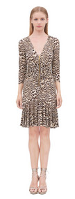 Roberto Cavalli Chukar Print Dress