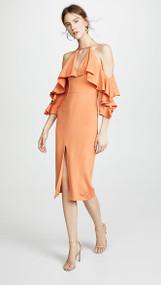 Cushnie  Aura Cold Shoulder Dress