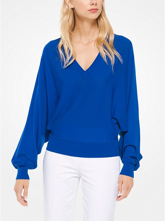 acc4730385e Home · Collections  Michael Kors Mediterranean V-Neck Pullover. Image 1