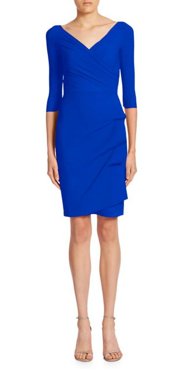 904d6c10 Chiara Boni La Petite Robe Blu Klein Florien Dress (FLORIEN- Blu Klein)