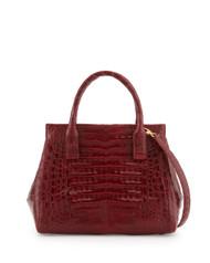Nancy Gonzalez Shiny Small Satchel Bag