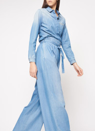 Fabiana Filippi Cotton and Cashmere Trousers