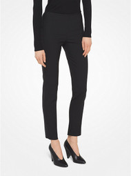 Michael Kors Stretch Wool-Gabardine Trousers