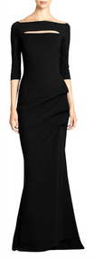 Chiara Boni La Petite Robe Nero Kate Long Dress