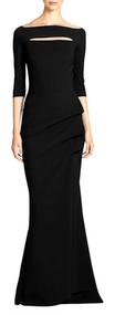 Chiara Boni La Petite Robe Kate Gown in Black (Size 40/42/46)