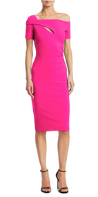 Chiara Boni La Petite Robe Glossy Pink Anusha Dress