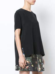 Adam Lippes Pleat Back Sleeveless Top