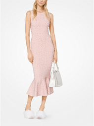 Michael Kors Pearl Crystal Sheath Dress