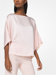 Michael Kors Satin Charmeuse Tunic