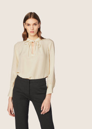 Derek Lam Sonia Long-Sleeve Blouse
