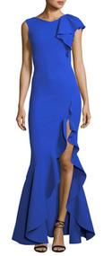Chiara Boni La Petite Robe Blu Klein Chitris Long Dress