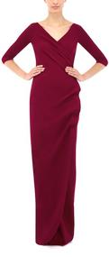 Chiara Boni La Petite Robe Mahogany Florien Long Dress