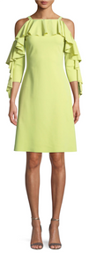 Chiara Boni La Petite Robe Avocado Marcellina Dress