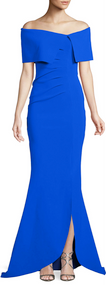 Chiara Boni La Petite Robe Blu Klein Egida Long Dress
