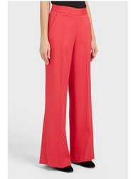 Oscar de la Renta Wide Leg High-Waisted Trousers