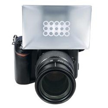 Promaster Universal Portable Softbox Diffuser For Slr Cameras With Built-In Flash