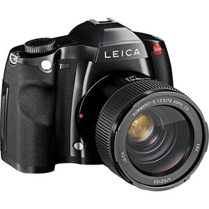 Leica S2-P Digital SLR (37.5 MP) (Black) W/Sapphire Lcd Cover & Platinum Service