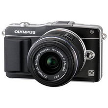 Olympus E-PM2 Mirrorless Digital Camera with 14-42mm f/3.5 II Lens