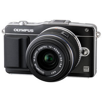 Olympus E-PM2 Mirrorless Digital Camera with 14-42mm f/3.5 II Lens