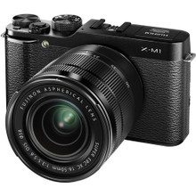 Fujifilm X-M1 Mirrorless Digital Camera w/ XC 16-50mm f/3.5-5.6 OIS Lens