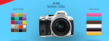 Pentax K-50 DSLR Camera with 18-55mm f/3.5-5.6 and 50-200mm f/4-5.6 Lenses