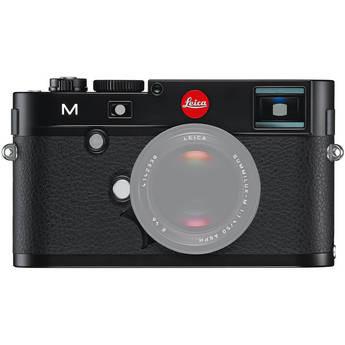 Leica M Digital Rangefinder Camera (Body Only) (Black)