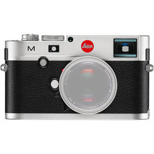 Leica M Digital Rangefinder Camera (Body Only) (Silver)
