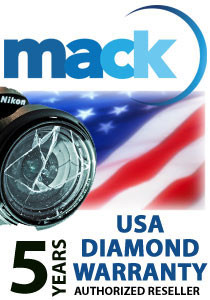 Mack 5 Year Diamond Warranty (for digital cameras with a retail value of up to $500)
