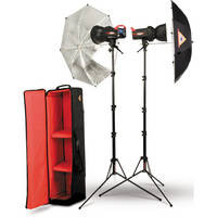 Photoflex FlexFlash 400W Strobe Umbrella Kit