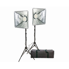 Promaster VL306 Portable LED 2-Light Studio Kit