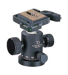 Giottos MT 9242-1001-652 Aluminum Mt Classic 3 Section Tripod Kit W/Mh1001 & 652 Qr Plate Kit